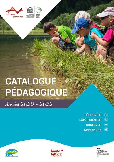 Catalogue pédagogique 2020-2022 du Géoparc du Chablais