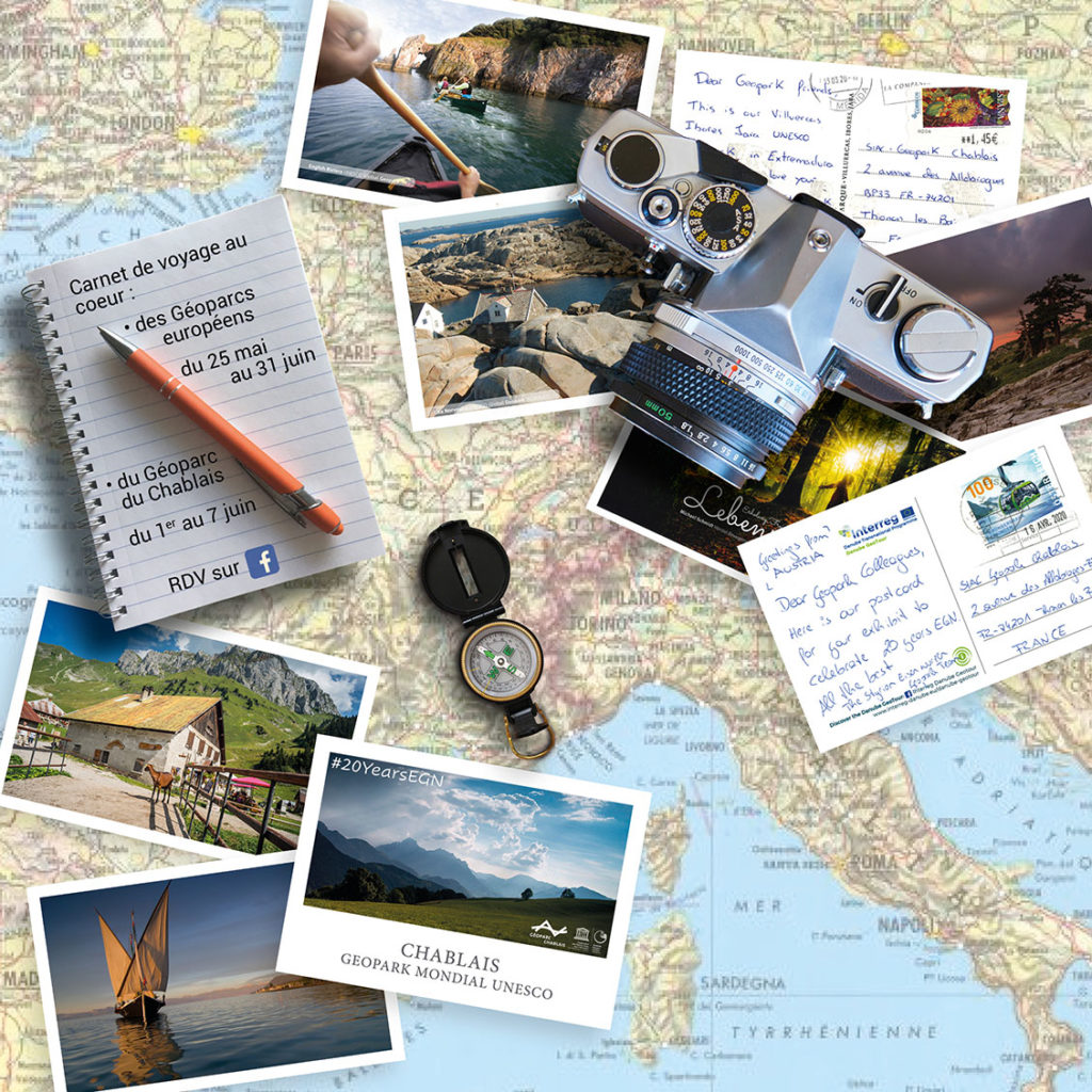 Les géoparcs européens et le chablais
