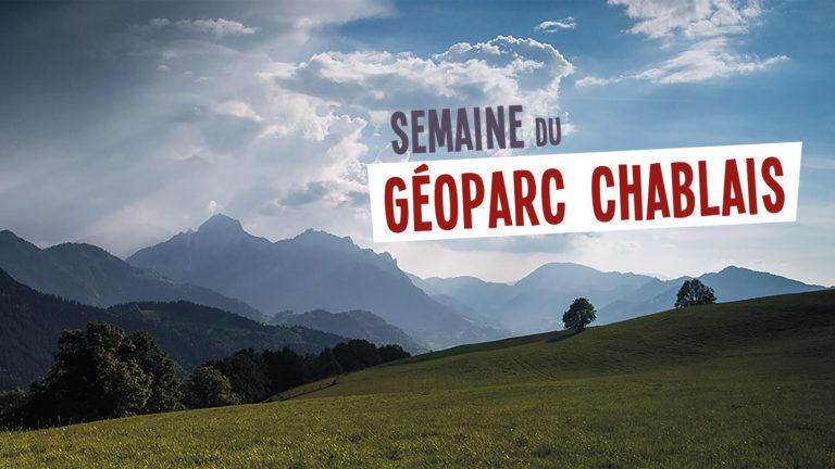Semaine du Géoparc numérique et Mont Benand