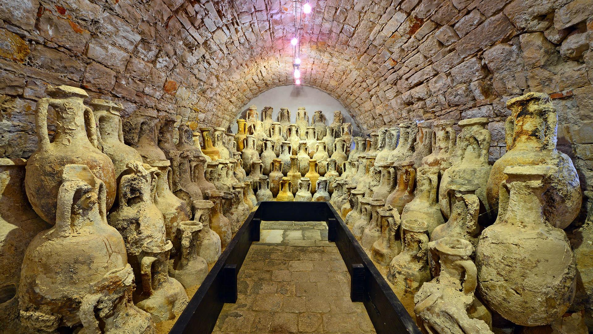 Geoparc mondial UNSCo de Vis en Croatie Archéologie