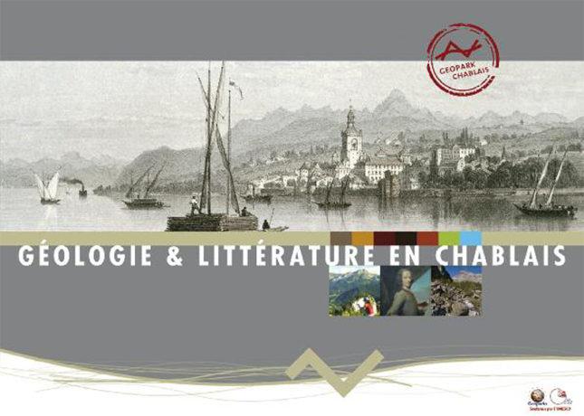 Livret sur la géologie et la littérature en Chablais