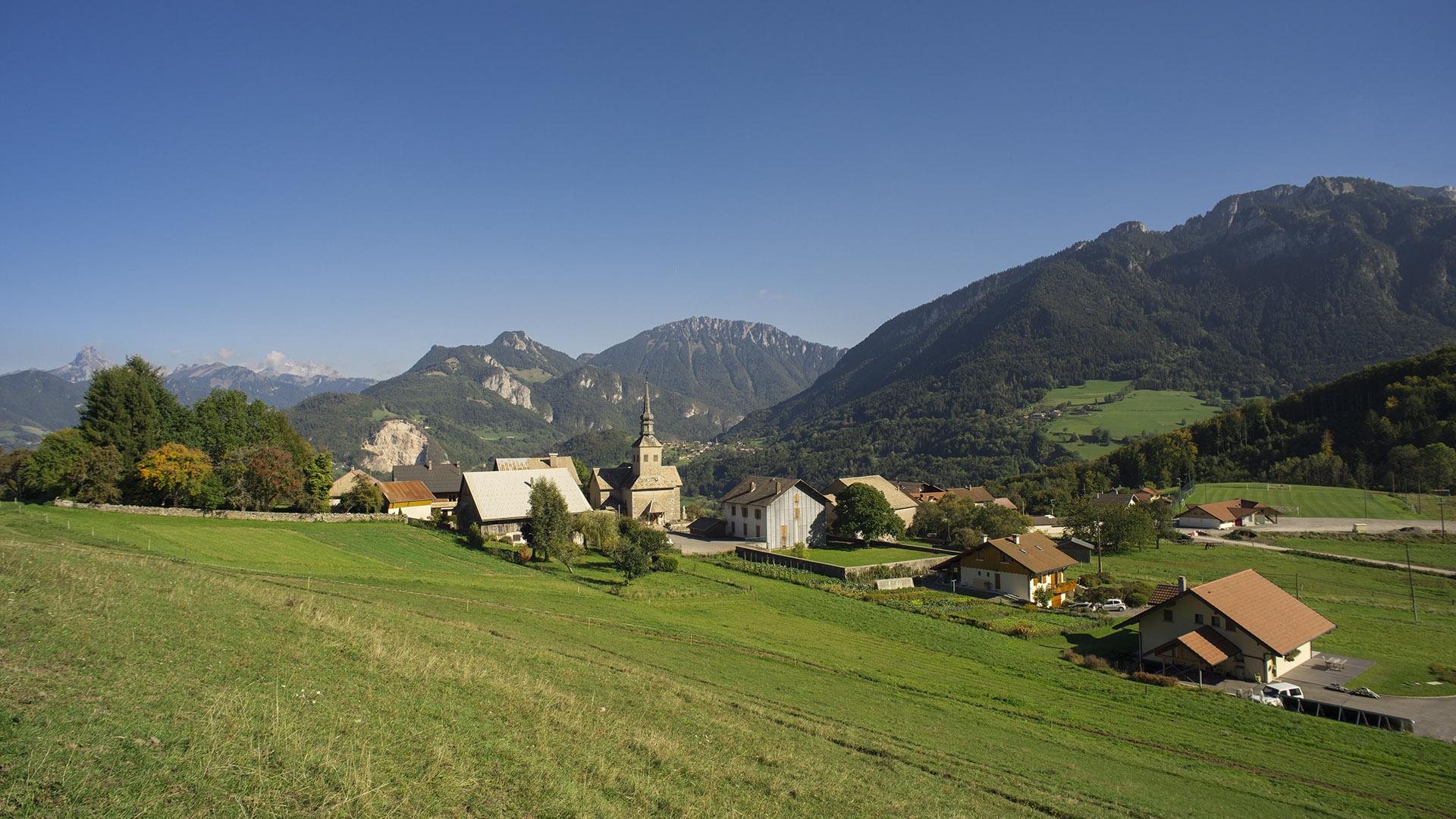 Panorama du Chablais depuis Reyvroz
