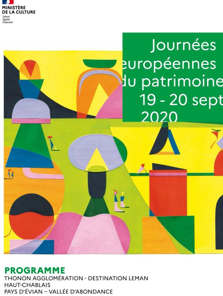 Programme des Journées des Patrimoines dans le Chablais 2020