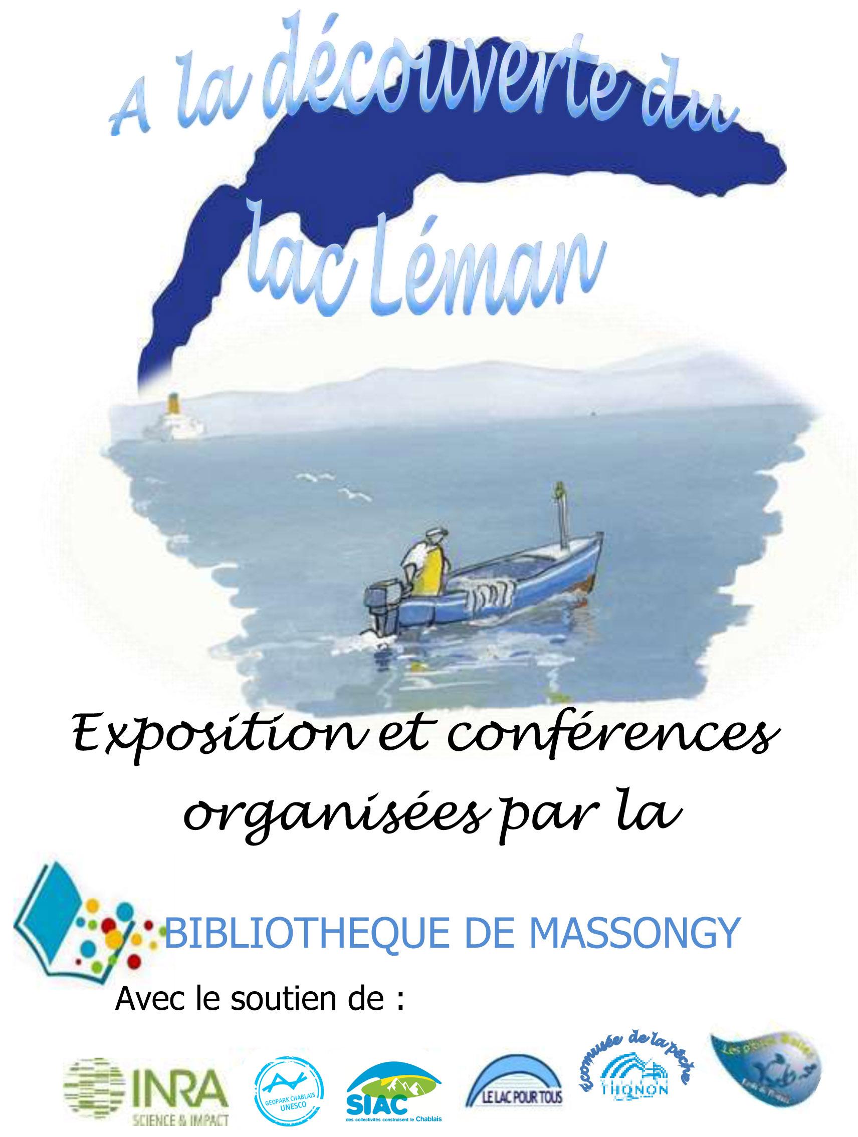 affiche expo léman biblio massongy 2017