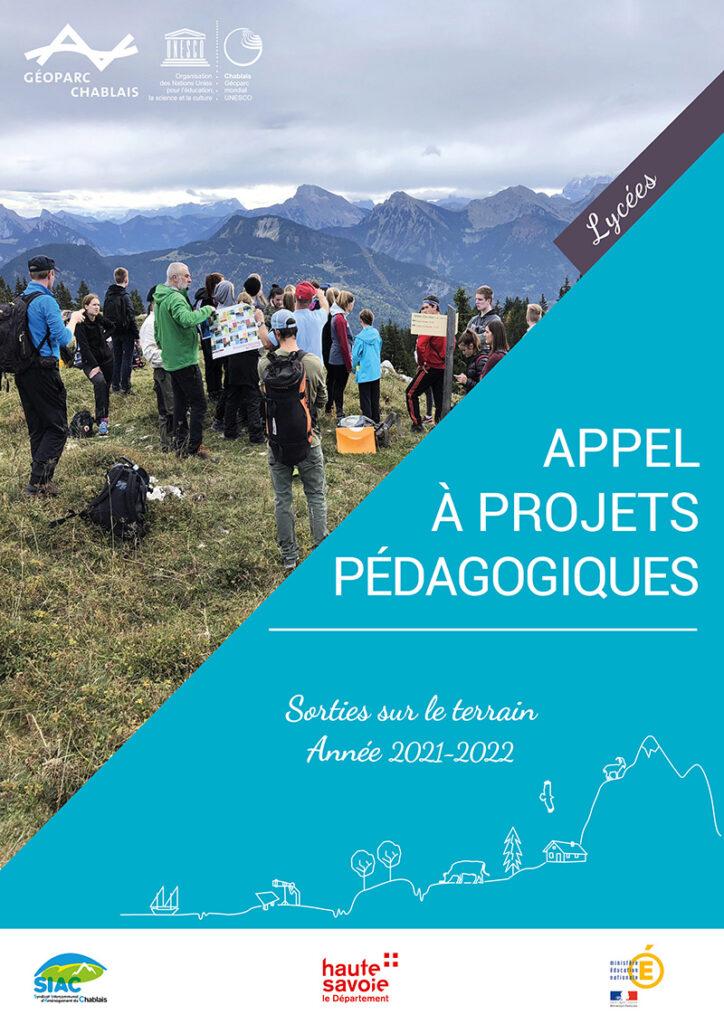 Appel à projets lycée géoparc Chablais