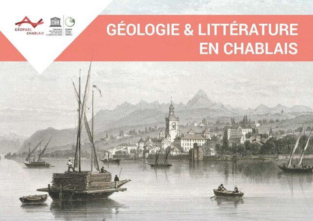 Couverture du livret Géologie & littérature en Chablais
